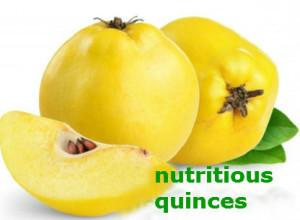 nutritious quinces