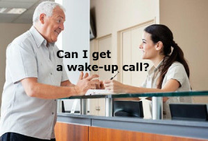 Can I get a wake-up call