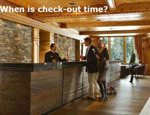 When is check-out time