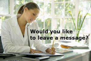 Would you like to leave a message