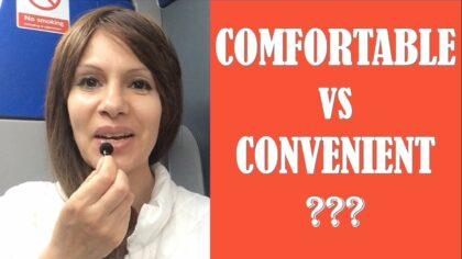 comfortable и convenient разница